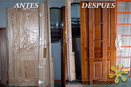 Pinturas blanco lacados y barnizados sistemas - Como pintar una puerta de madera con brocha ...